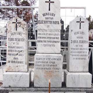 The Graves of Dr. Elizabeth Ross, Mabel Dearmer and Lorna Ferris
