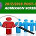 Edo University, Iyamho 2017/18 Post-UTME Admission Screening Schedule