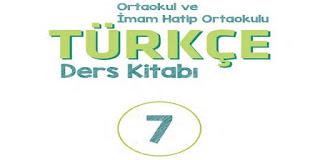 7. Sınıf Türkçe Ders Kitabı MEB Yayınları