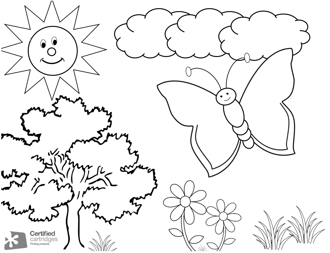Tales Of Mommyhood: Summer Colouring Sheet Printable