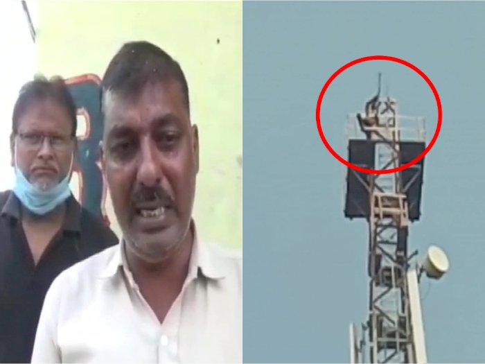 Capek Bertengkar dengan Istrinya, Pria Ini Panjat Tower untuk Tenangkan Diri