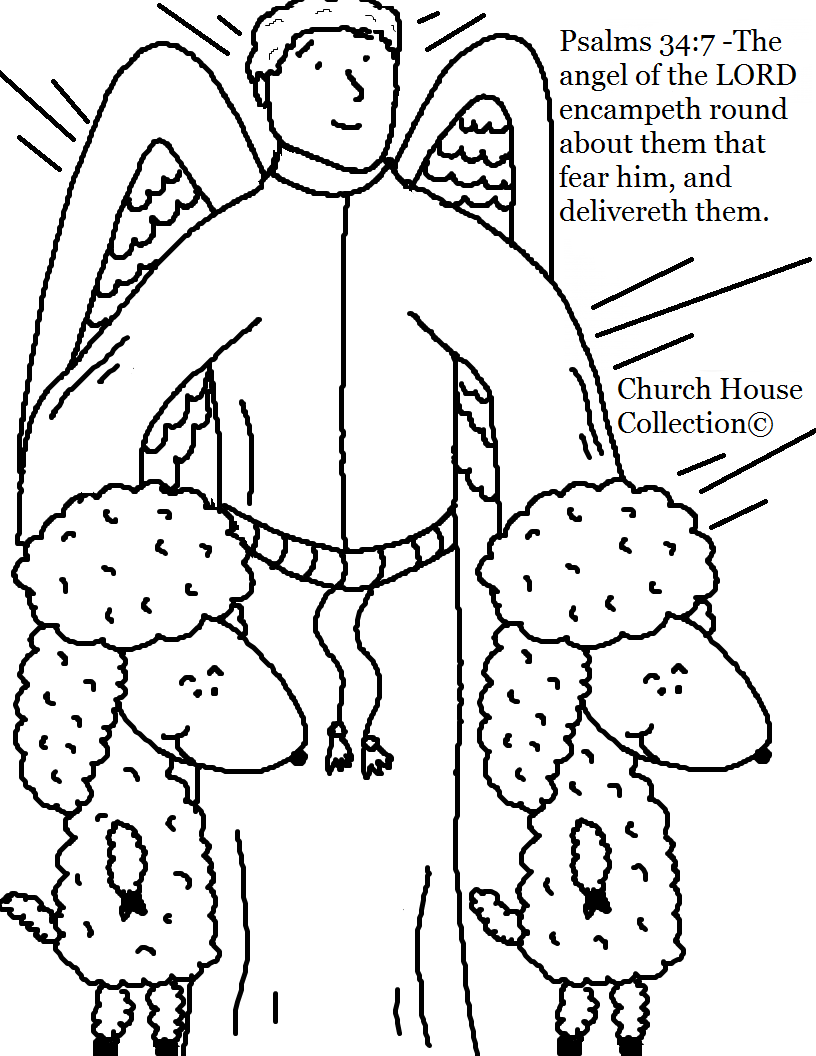 Coloring pages psalm 33 - Just Click On The Picture And Print The Coloring Page