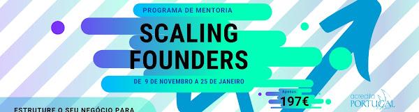 Programa de mentoria #1 Scaling Founders