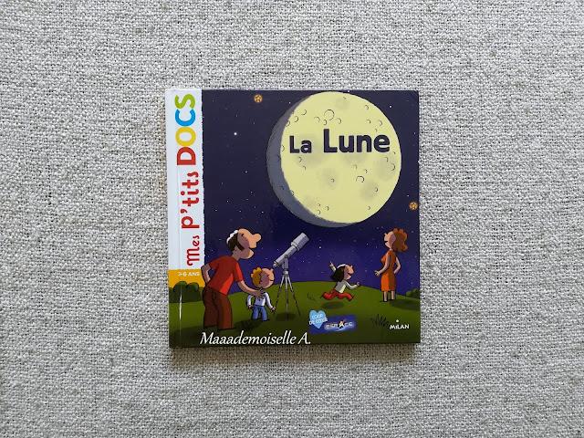 || Sélection de livres sur l'espace (Et dans leur bibliothèque il y a... # 12) - Mes p'tits docs La Lune