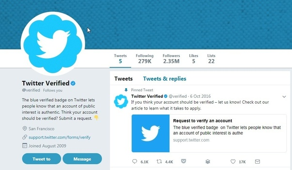 Follow these steps to have verified twitter account in 2021