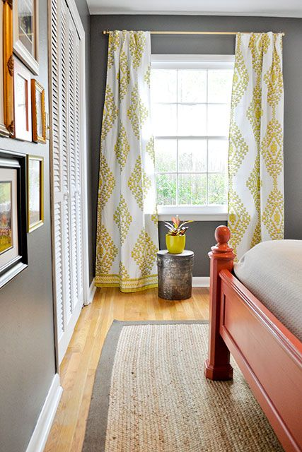 Cord Curtains Corded Bay Window Curtain Track Metal Cordless Corn Beef