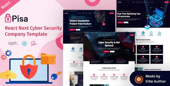 Cyber Security Company Template