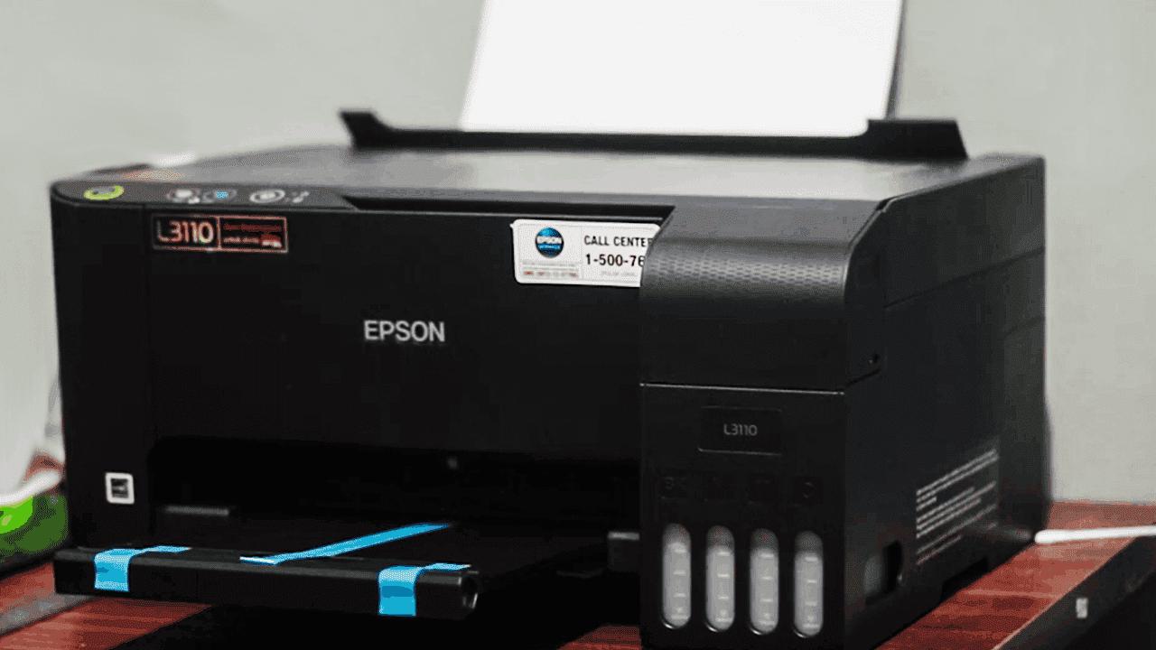Cara Menginstall Epson L3110 Tanpa CD