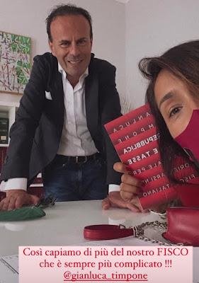 Gianluca Timpone libro commercialista Caterina Balivo
