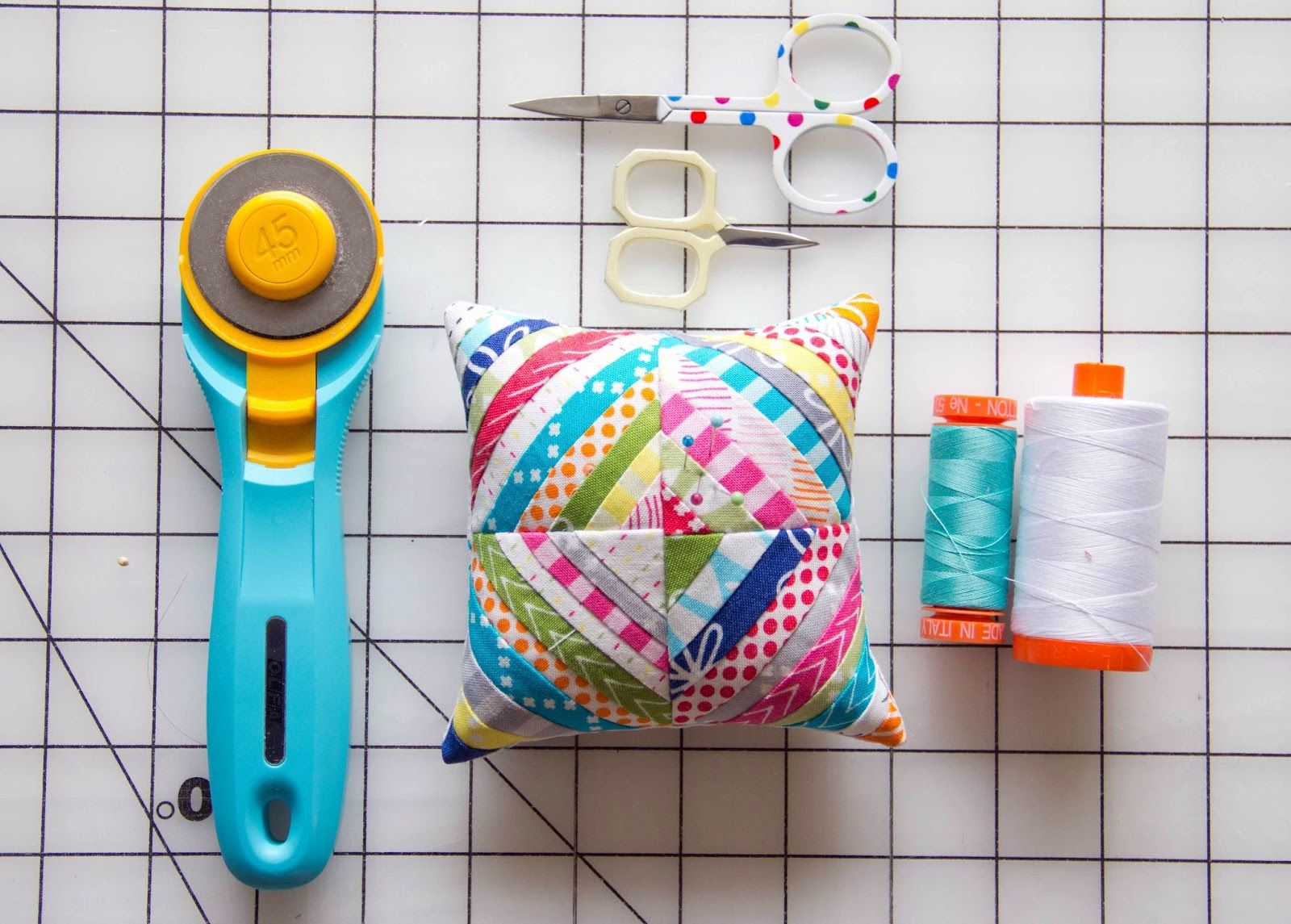 How to Make Pincushion. DIY Tutorial