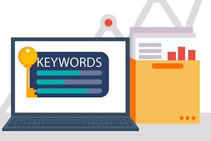 Beberapa Jenis Keyword yang Harus Anda Pelajari untuk Blog