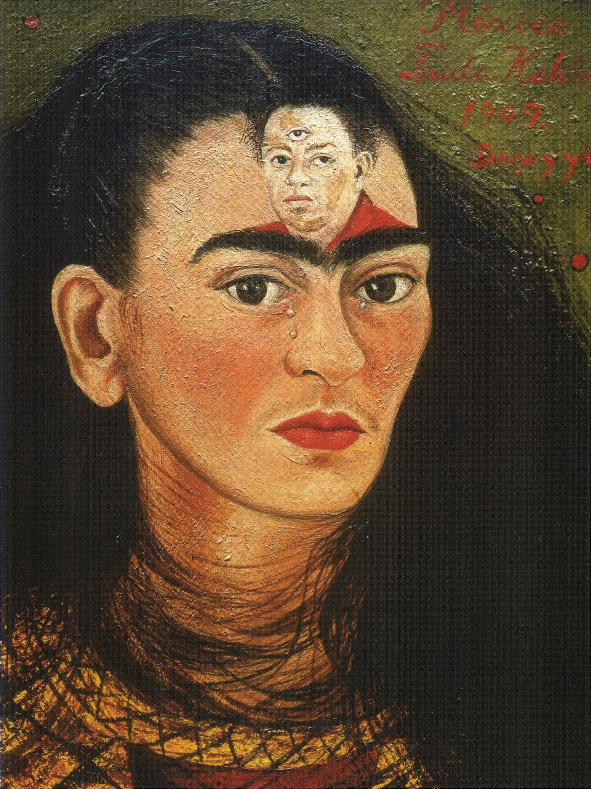 Frida Kahlo | You rain on me - I sky you, | Tu mi piovi - Io ti cielo, 1947