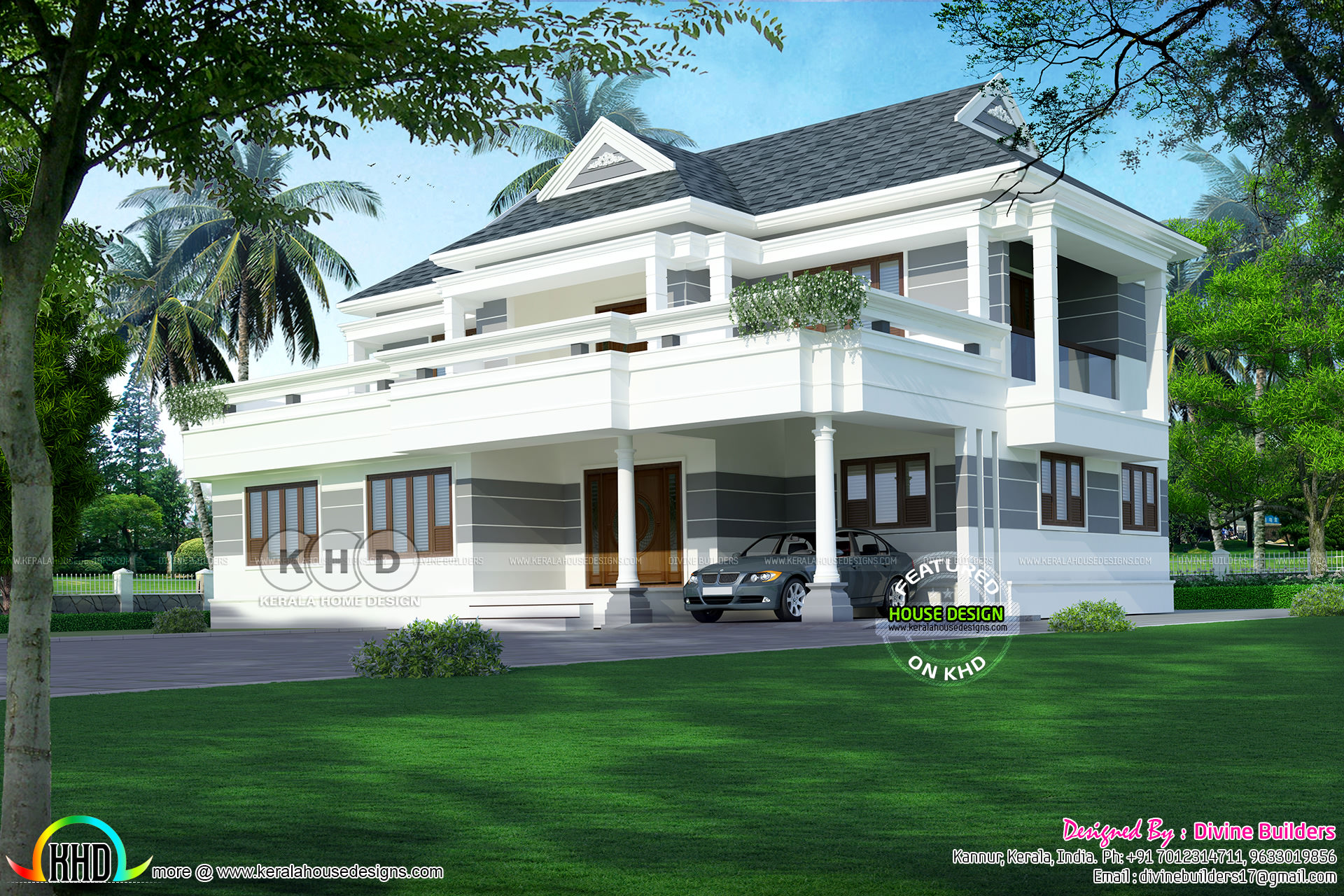 35 lakhs construction cost estimated home kerala home for Estimated cost of building a house