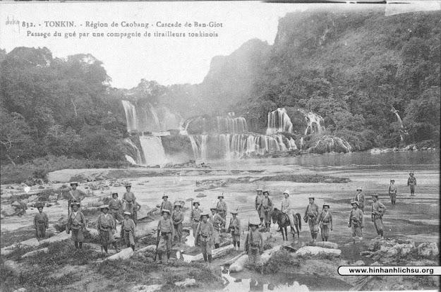 Hình ảnh xưa về Thác Bản Giốc ở Cao Bằng