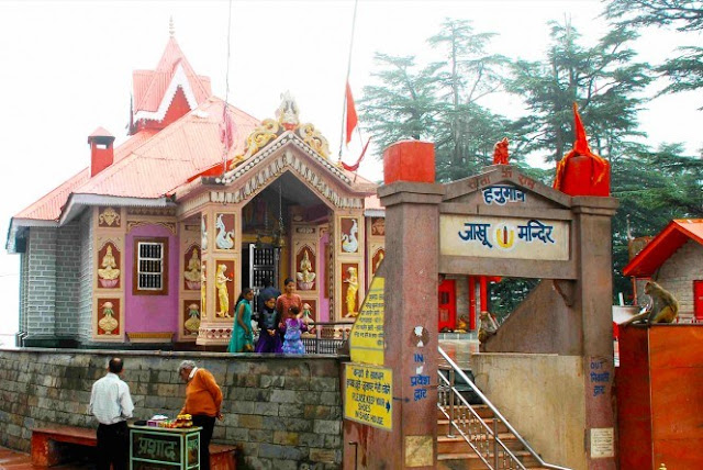 Shimla Attraction - Jakhu Temple or Jakhoo temple