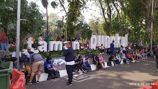 Taman Bungkul CFD Surabaya