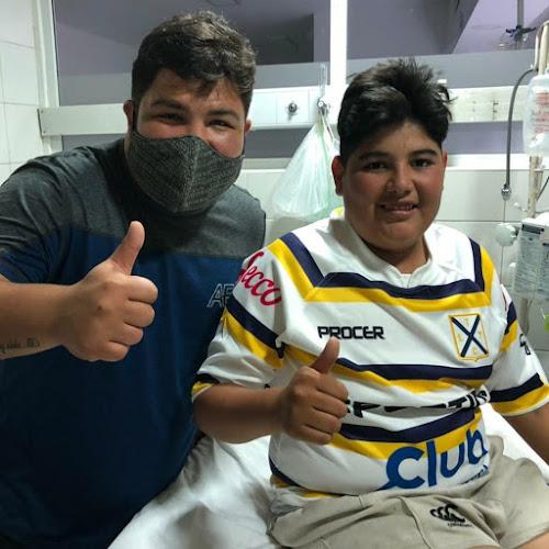 Fuerza Isaías Frías !!! #RugbySolidario #TLTC
