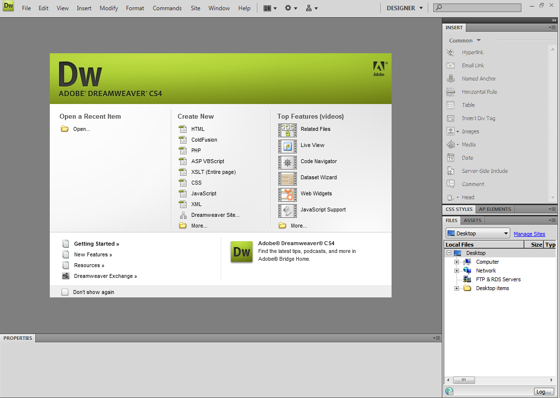 adobe dreamweaver cs4 full version crack