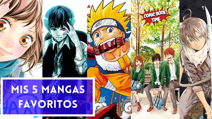 Los 5 mangas favoritos de Andrea