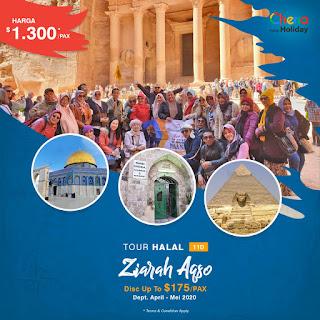 Paket Tour Aqsa April - Mei 2020