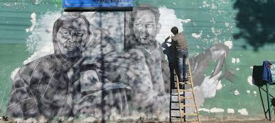 Street Art Celebrates Corona Warriors, Project Hilldaari, Art Scene India