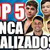 TOP 5 LUTADORES DE JIU JITSU QUE NUNCA FORAM FINALIZADOS
