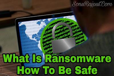 Ransomware Kya Hai ,