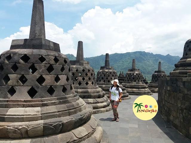 the beauty of borobudur temple