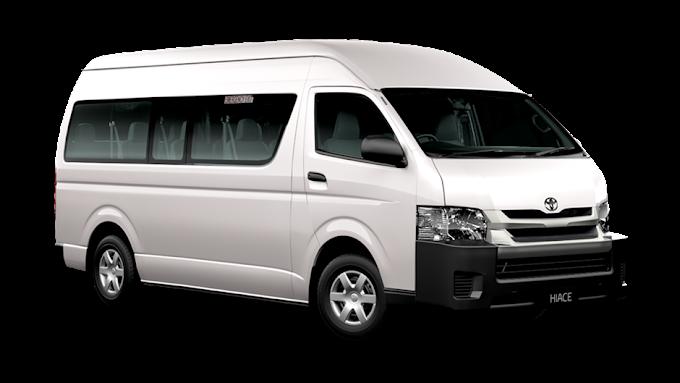 white Toyota Hi-Ace van, Toyota HiAce Van Bus Car, bench, compact Car, driving png by: pngkh.com