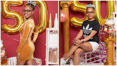 Photos: Surprise As Woman Who Look 20 Celebrate Her 50th Birthday