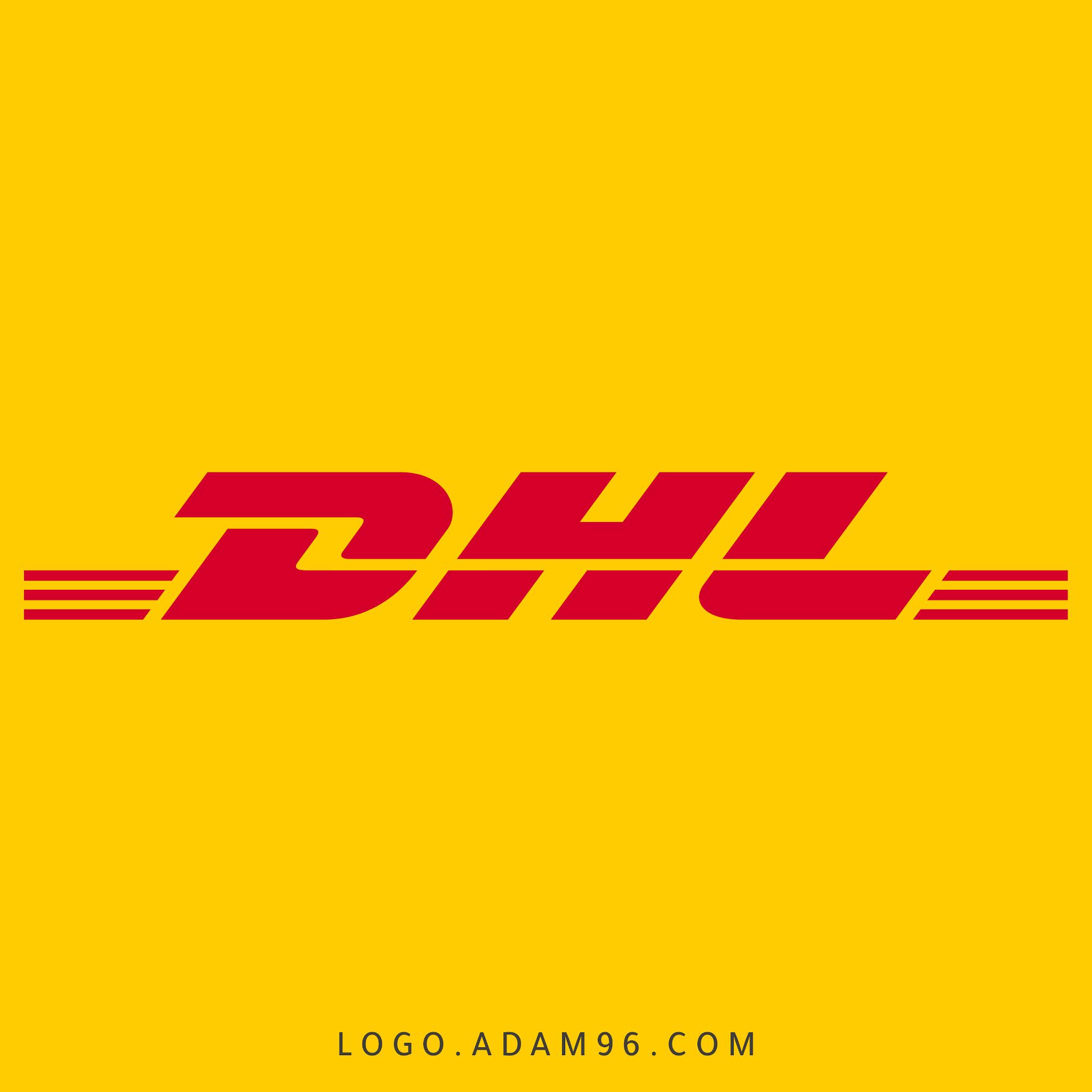 تحميل شعار دي إتش إل لوجو رسمي عالي الدقة LOGO DHL