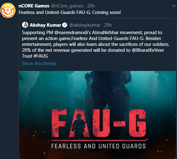 what is faug game,faug game release date,faug app download, faug app trailer, faug app launch date, faug app download apk, faug app size, faug app owner, faug which country app,indian gaming,gaming india, faug game, fauji game details,fauji game video