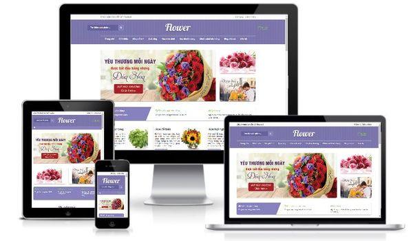 Template blogspot bán hàng miễn phí shop hoa tươi cực đẹp