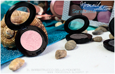 SENSUELLE -  Eyeshedow ombretti Swatches, Comparazione  - MERMAID COLLECTION - NABLA COSMETICS