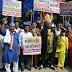 भारतीय दलित पैंथर ने धूमधाम से निकाली बौद्ध संदेश यात्रा