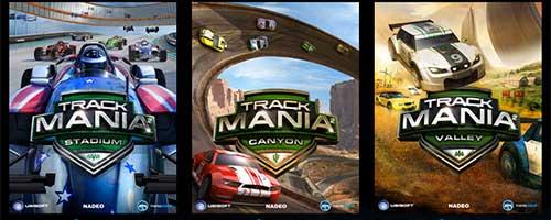 العاب سباقات سيارات تراكمانيا TrackMania اشهر العاب السيارات