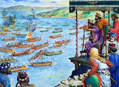 Η Ναυμαχία της Σαλαμίνας (22 ή 28/29 Σεπτεμβρίου του 480 π.Χ.)