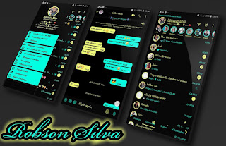 Neon Theme For YOWhatsApp & Fouad WhatsApp By Robsson
