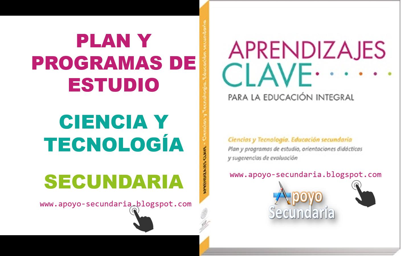 Plan y Programa de Estudio de Ciencias y Tecnología