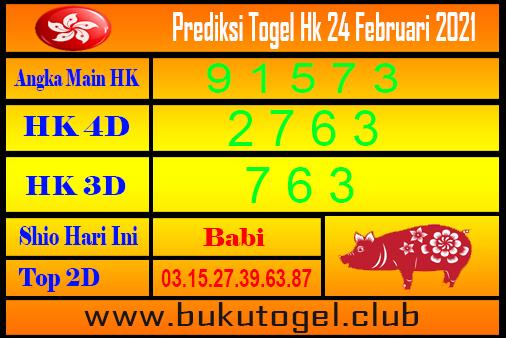 Hk Forecast 24 Februari 2021