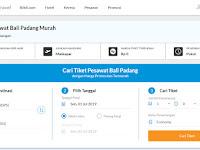 Kemudahan Memesan Tiket Pesawat Bali Padang di Blibli.com