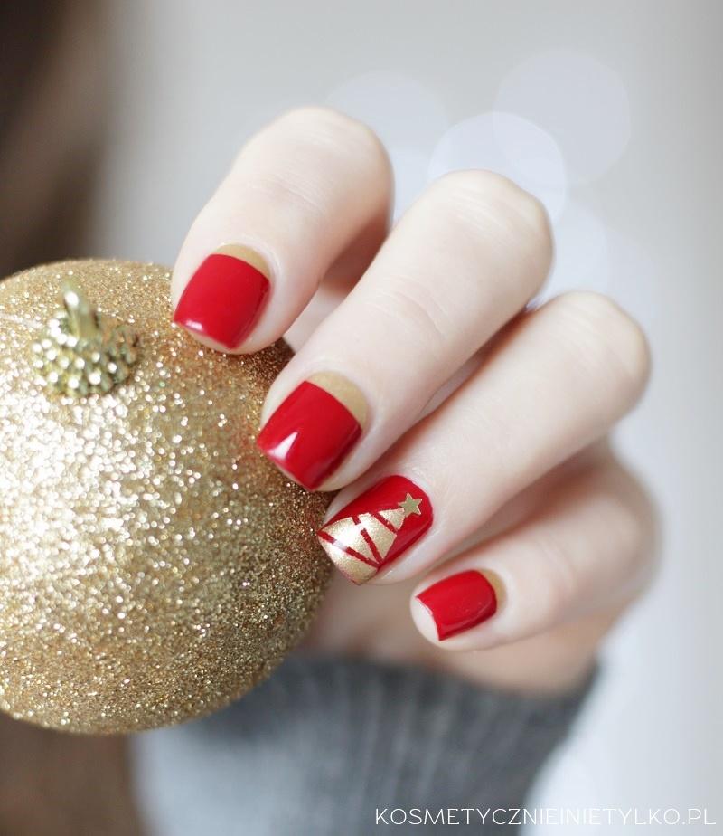 Zdobienie paznokci na święta
