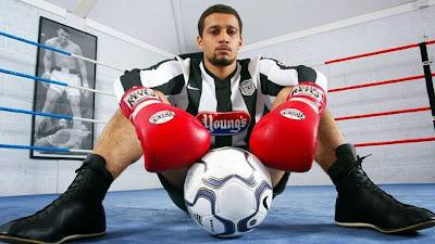 Resultado de imagen para el boxeador futbolista