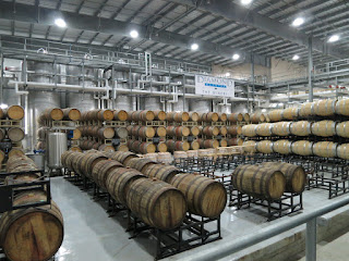 800+ Barrels at Diamond Estates Winemaking Facility