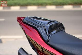 Gambar Modifikasi Yamaha Aerox 155 memakai Monoshock - 2