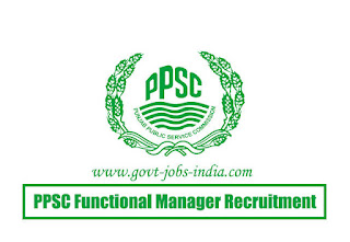 PPSC Functional Manager Recruitment 2020
