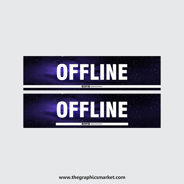 free twitch offline banner download