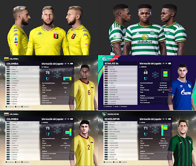 PES 2021 MiXed Facepack 61