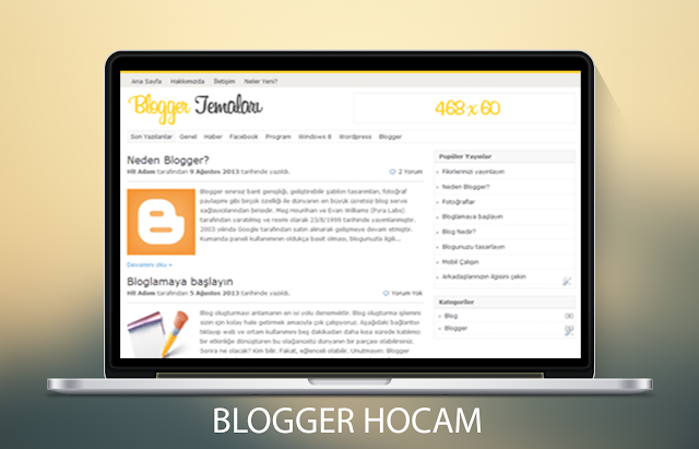 Popho Portal Blogger Teması