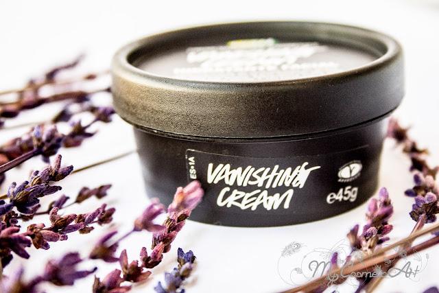 Vanishing Crema, crema hidratante facial de Lush. ¡Lavanda!